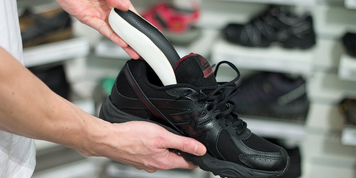Ortopediskt inlägg i sko