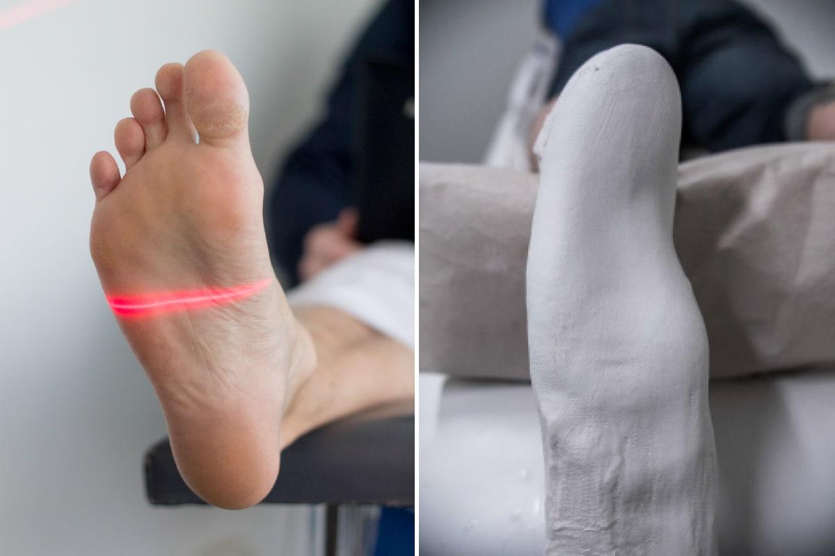Scanning av fötter