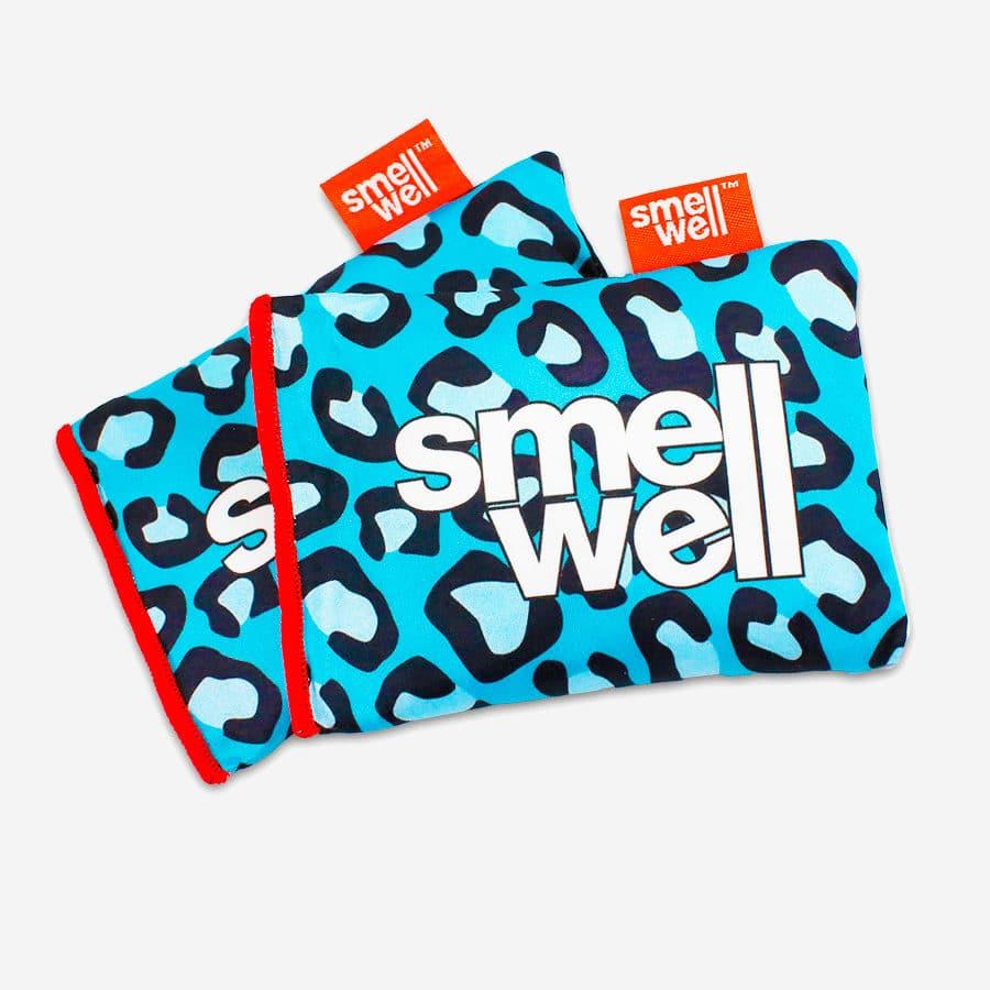 SmellWell Blue Leopard